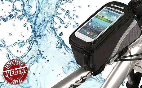 Praktické voděodolné pouzdro na kolo k ochraně věcí před neduhy počasí