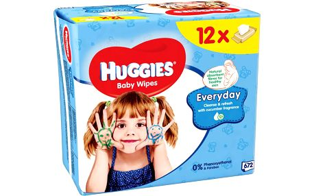 Huggies wipes Everyday 12x56ks