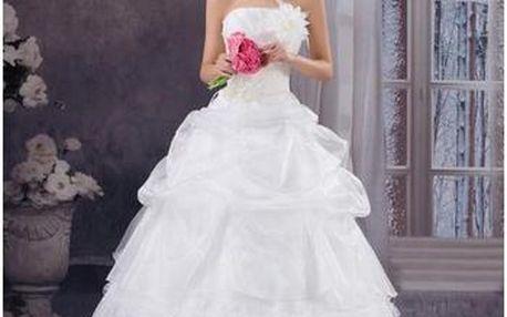 Luxusní svatební šaty - 7 velikostí
