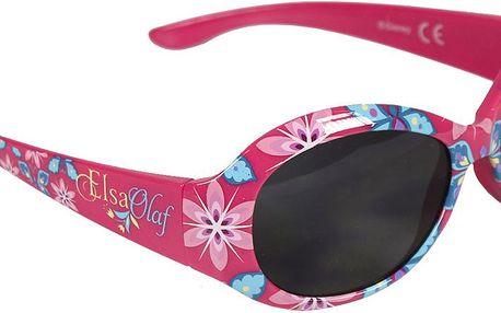 Disney Brand Dívčí sluneční brýle Frozen - růžové