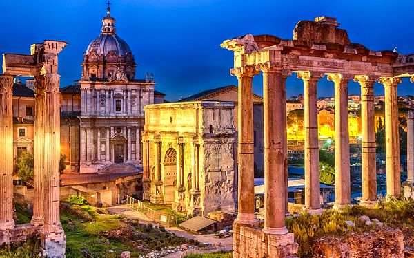 Výlet za krásami jižní Itálie vč. návštěvy Říma