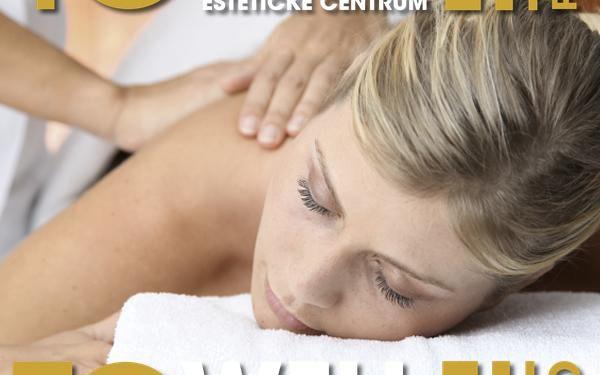 Hodinová masáž v Estetickém centru To well. Na výběr z několika druhů. Vhodné pro muže i ženy.
