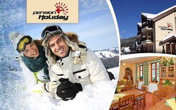 Skvělá lyžovačka v srdci Krkonoš v blízkosti sjezdovek (3 ski areály) pro 2 osoby na 3 nebo 4 dny se snídaní v rodinném penzionu Holiday. Sjízdnost a parkování zaručeny - trasa Vrchlabí – Špindlerův Mlýn. Užijte si plnými doušky letošní poslední lyžování.