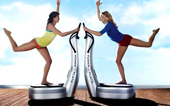 Cvičení na Power Plate v Beauty Body Studiu