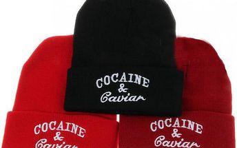 Čepice Cocaine & Caviar!