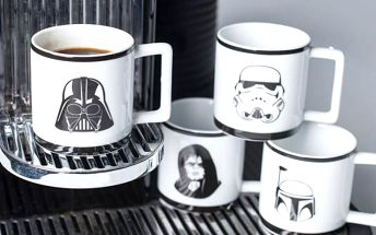 Sada šálků na espresso Star Wars!