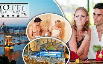 Budapešť! Užijte si 3, 4 nebo 5 dní pro 2 osoby + 1 dítě do 12 let se snídaní v luxusním 4*hotelu Mediterran Hotel Budapešť! V ceně parkování, vstup do vířivky, sauny a další! Zažijte letní romantiku! Platnost přes léto až do září! Romantická metropole če