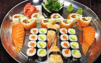 Asijské hody: 36 kousků famózního sushi