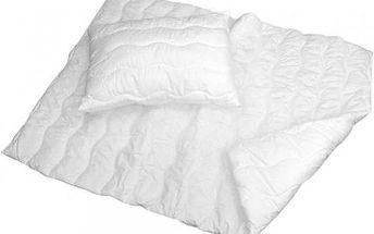 NOVIA Prošívaná přikrývka s polštářem Comfort+, 70x90 140x200
