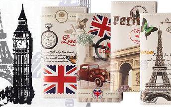 Stylová dámská peněženka City s módními motivy!
