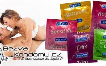 42 kondomů + 1 kondom zdarma! Kondomy Durex a Pasante jsou sázkou na jistotu! Balíček spolehlivých kondomů prvotřídních značek poskytují vynikající ochranu a maximální potěšení!