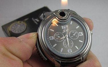 Hodinky se zapalovačem