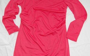 Elegantní šatičky/tunika Figl 95, Barva: černá