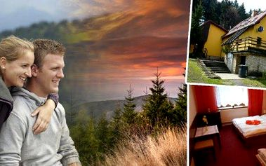 Pohádkové Beskydy v rodinném penzionu Na Lůkách pro dva až na 8 dní s platností do konce září!! Polopenze, welcome drink, slevy na saunu, masáže!! Ideální prostředí jako stvořené pro strávení klidné dovolené v překrásné přírodě!!