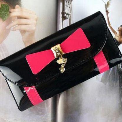 Elegantní lesklá peněženka - 4 barvy