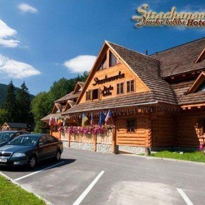Nízké Tatry s polopenzí a wellness
