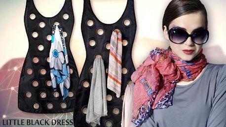 Organizér na šátky Little Black Dress - dejte svému šatníku řád!