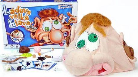 Teddies Láďova velká hlava společenská hra v krabici 41x27x6,5cm
