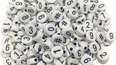 Korálky s abecedou - poskládej si sám