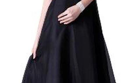 Elegantní večerní šaty s krystaly - 8 velikostí