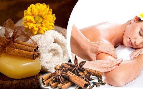 Prohřívací skořicová masáž v délce 40 minut v salonu Miruš Plzeň!! Uvolníme vaše záda a šíji, zlepšíme prokrvení, ulevíme od bolesti a pokožku nádherně provoníme!! Profesionální masáž od masérky s dlouholetou praxí!!