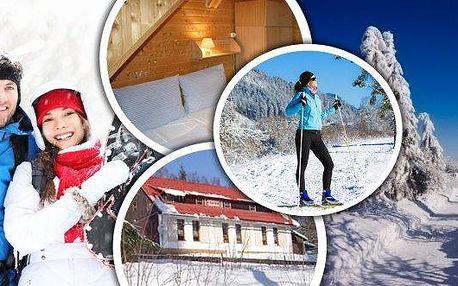 Šumava - relaxační pobyt na 3 nebo 6 dní pro dva s polopenzí. Bohaté snídaně, tříchodové večeře, navíc zmrzlinový pohár! Užijte si parádní dovolenou v horské Chatě na Papírně v krásném údolí řeky Úhlavy obklopené šumavskými hvozdy v blízkosti lyžařských a