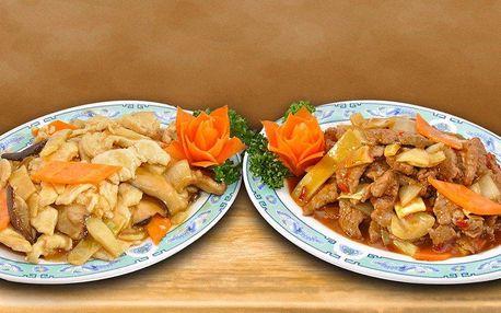 Skvělé čínské menu a parádní výhled k tomu