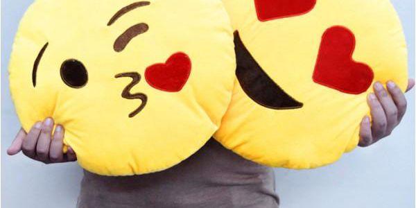 Polštář smajlík Emoji!
