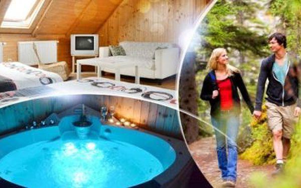 Vysočina - wellness pobyt na 3 až 8 dní pro dva ve stylové chalupě s polopenzí a privátní saunou a vířivkou!