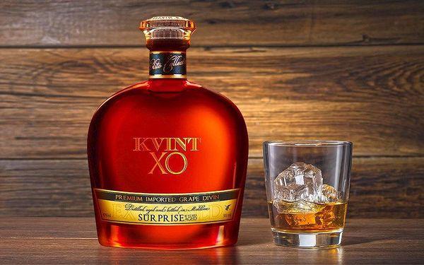 Lahodná moldavská brandy Kvint Surprise 10Y