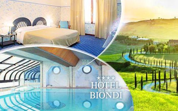 Toskánsko - Montecatini Terme na 4 dny pro 1 osobu ve 4* hotelu + polopenze a bazén, děti do 13 let zdarma