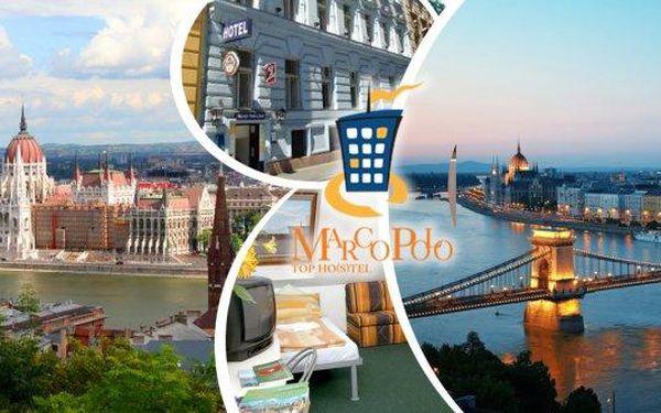 Pobyt v Budapešti pro nenáročné za skvělou cenu! Marco Polo Hostel na 3 nebo 4 dny pro 2 osoby a 1 dítě do 6ti let se snídaněmi! Ubytování přímo v centru metropole, pár kroků od metra! Pobyt můžete využít až do konce září! Objevte krásy Budapešti - památk