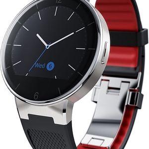 ALCATEL ONETOUCH WATCH SM02 Black Red, na splátky od 352 Kč měsíčně