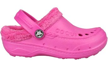 Coqui Dětské sandále Coqui s kožíškem - fuchsiové, EUR 34/35