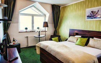 3denní wellness pobyt s polopenzí pro dva v Parkhotelu Morris v Lužických horách
