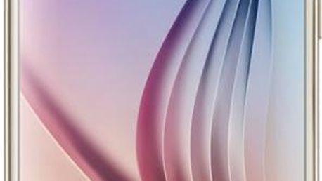 Samsung G920 Galaxy S6 32GB Platinum Gold (SM-G920FZDAETL)ZDARMA selfie tyč v ceně 299Kč ,ZDARMA nabíječka do vozu ,ZDARMA Samsung R322 Gear VR v ceně 3490Kč, na splátky od 1499 Kč měsíčně
