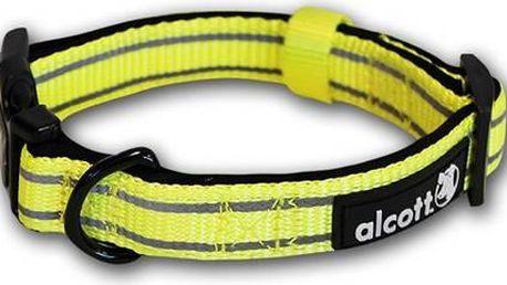 Obojek Alcott reflexní S 25-35cm neon žlutý