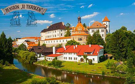 Jindřichův Hradec pro dva s ubytováním přímo pod zámkem s platností do 31. 5. 2016