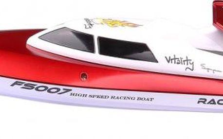 Buddy Toys BRB 3500 RC loď 350 červená