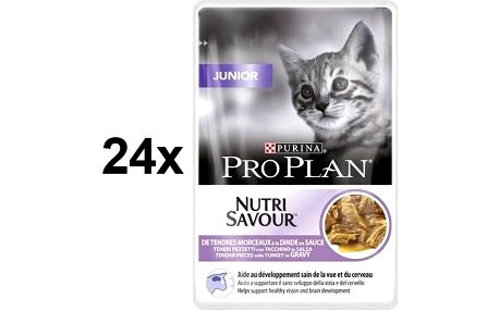 Purina Pro Plan CAT JUNIOR Krůta 24 x 85g + Doprava zdarma