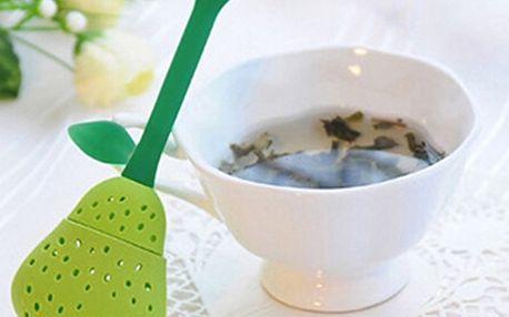 Silikonové sítko na čaj - Hruška