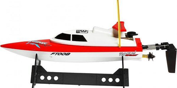 RC model loď Buddy Toys BRB 2801 RC loď 280 červená2