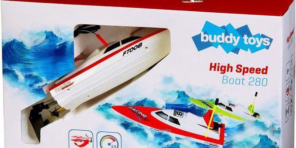 RC model loď Buddy Toys BRB 2801 RC loď 280 červená3