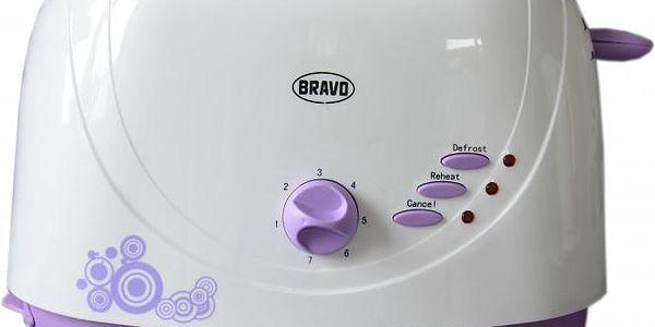 Bravo B 4294 FIALOVÝ DEKOR