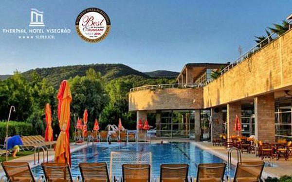 TOP Wellness pobyt s polopenzí, termálními a vyhřívanými bazény v Hotelu Visegrad Superior ****
