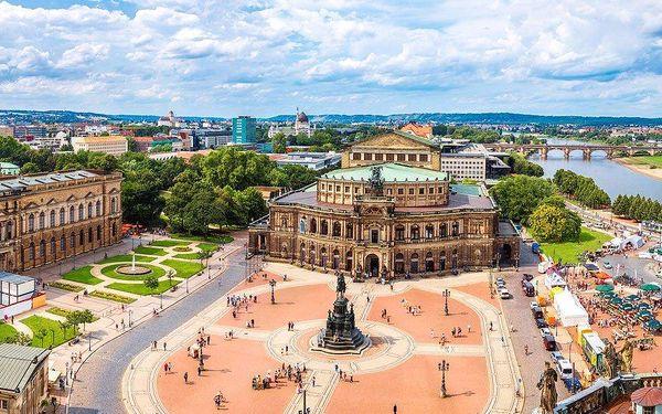 Jarní trhy v Drážďanech a nákupy v Heidenau