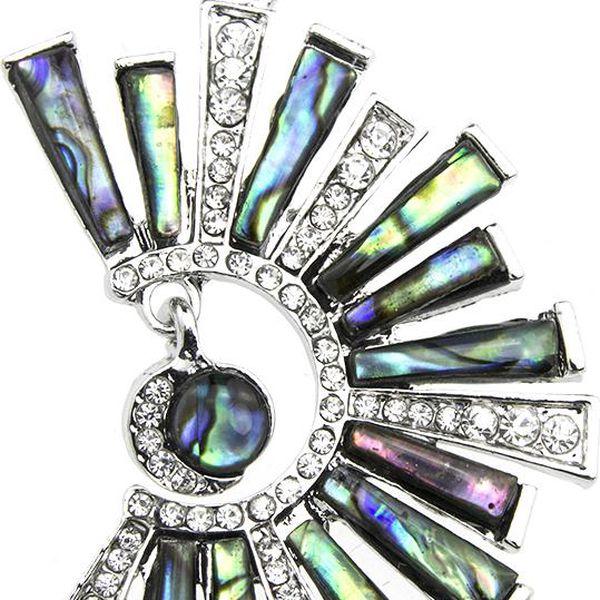 Fashion Icon Přívěsek slunce s Paua perletí