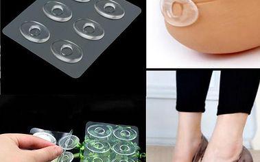 Silikonové polštářky proti puchýřům