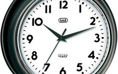 Retro nástěnné hodiny Trevi OM 3315 S/BK