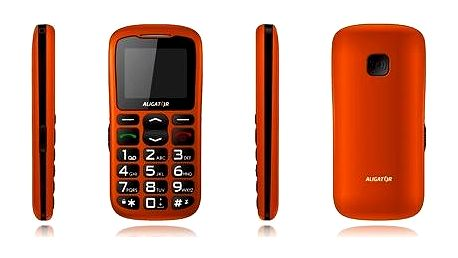 Aligator A430 Orange Black